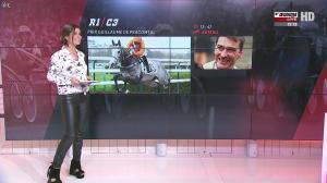 Amélie Bitoun dans un Jour aux Courses - 04/10/16 - 04