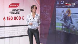 Amélie Bitoun dans Un Jour aux Courses - 04/10/16 - 05