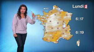 Anaïs Baydemir à la Météo de Midi - 28/10/16 - 01