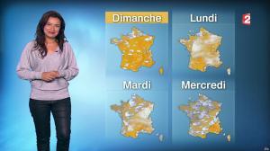 Anaïs Baydemir à la Météo de Midi - 28/10/16 - 02