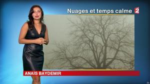 Anaïs Baydemir à la Météo du Soir - 26/10/16 - 01