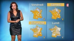 Anaïs Baydemir à la Météo du Soir - 26/10/16 - 17