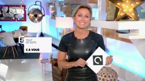 Anne-Sophie Lapix dans C à Vous - 04/10/16 - 05