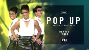 Audrey Pulvar dans Bande Annonce de Popup - 15/10/16 - 04