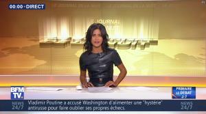Aurélie Casse dans le Journal de la Nuit - 27/10/16 - 03
