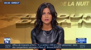 Aurélie Casse dans le Journal de la Nuit - 27/10/16 - 05