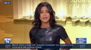 Aurélie Casse dans le Journal de la Nuit - 27/10/16 - 08