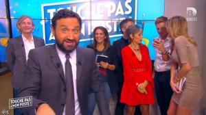 Caroline Ithurbide dans Touche pas à mon Poste - 29/09/15 - 01