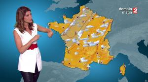 Chloé Nabedian à la Météo du Soir - 10/09/16 - 02