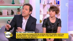 Mélanie Taravant dans la Quotidienne - 29/01/16 - 09
