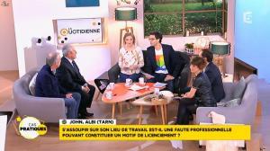 Mélanie Taravant dans la Quotidienne - 29/01/16 - 14