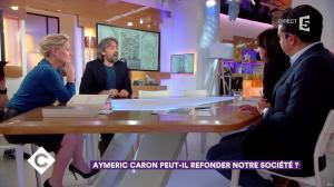 Anne-Elisabeth Lemoine dans C à Vous - 21/11/17 - 06