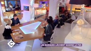 Anne-Elisabeth Lemoine dans C à Vous - 23/11/17 - 04
