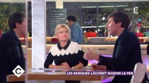 Anne-Elisabeth Lemoine dans C à Vous - 23/11/17 - 05
