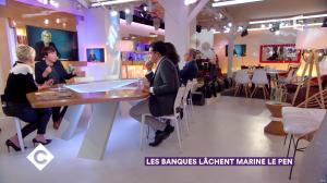 Anne-Elisabeth Lemoine dans C à Vous - 23/11/17 - 07