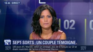 Aurélie Casse dans BFM Soir - 16/08/17 - 05