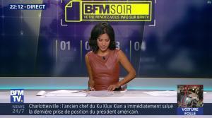 Aurélie Casse dans BFM Soir - 16/08/17 - 06