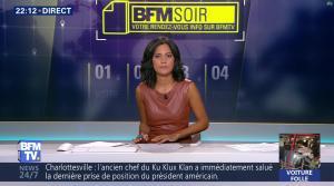 Aurélie Casse dans BFM Soir - 16/08/17 - 07