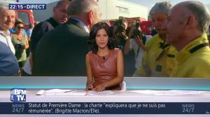 Aurélie Casse dans BFM Soir - 16/08/17 - 08