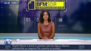 Aurélie Casse dans BFM Soir - 16/08/17 - 10