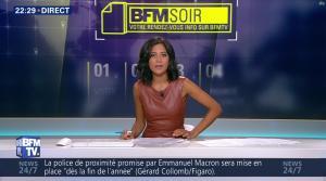 Aurélie Casse dans BFM Soir - 16/08/17 - 11