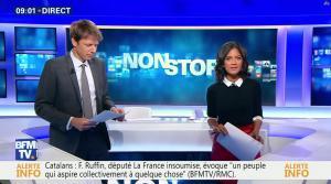 Aurélie Casse dans Non Stop - 04/10/17 - 02