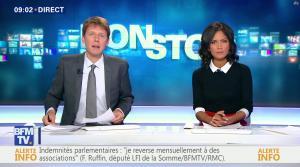 Aurélie Casse dans Non Stop - 04/10/17 - 03