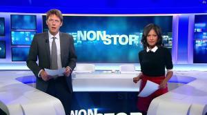Aurélie Casse dans Non Stop - 04/10/17 - 07