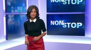 Aurélie Casse dans Non Stop - 04/10/17 - 11