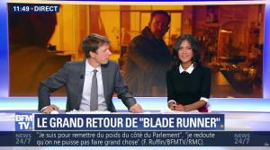 Aurélie Casse dans Non Stop - 04/10/17 - 12