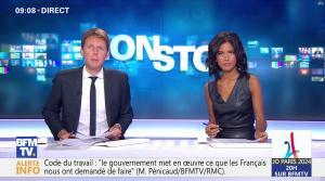 Aurélie Casse dans Non Stop - 13/09/17 - 04
