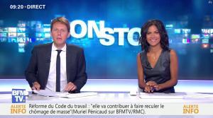 Aurélie Casse dans Non Stop - 13/09/17 - 10