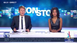 Aurélie Casse dans Non Stop - 13/09/17 - 12