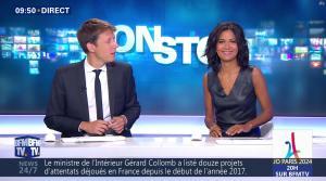 Aurélie Casse dans Non Stop - 13/09/17 - 18