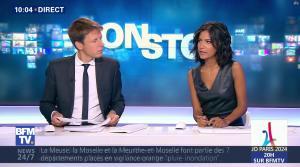 Aurélie Casse dans Non Stop - 13/09/17 - 23
