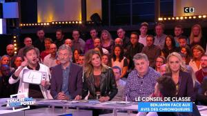 Caroline Ithurbide dans Touche pas à mon Poste - 21/11/17 - 43