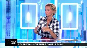 Caroline Roux dans C dans l'Air - 22/08/17 - 02