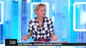 Caroline Roux dans C dans l'Air - 22/08/17 - 08