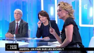 Caroline Roux dans C dans l'Air - 27/09/17 - 03