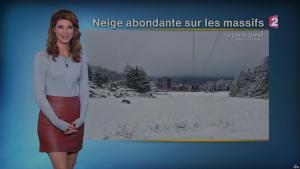 Chloé Nabedian à la Météo de Midi - 10/11/17 - 01