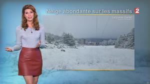 Chloé Nabedian à la Météo de Midi - 10/11/17 - 02