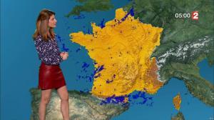 Chloé Nabedian à la Météo de Midi - 15/09/17 - 06