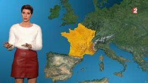 Chloé Nabédian à la Météo de Midi - 26/11/17 - 02