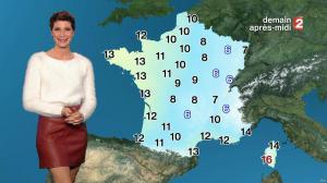 Chloé Nabedian à la Météo de Midi - 26/11/17 - 05