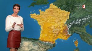 Chloé Nabedian à la Météo du Soir - 26/11/17 - 02