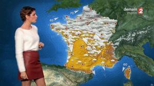 Chloé Nabédian à la Météo du Soir - 26/11/17 - 03