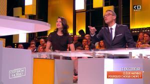 Clelie Mathias dans c'est Que de la Télé - 20/11/17 - 05