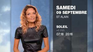Gennifer Demey à la Météo du Soir - 08/09/17 - 17