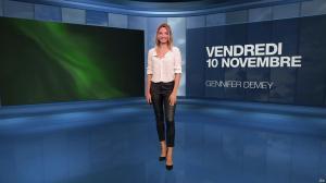 Gennifer Demey à la Météo du Soir - 10/11/17 - 01