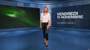 Gennifer Demey à la Météo du Soir - 10/11/17 - 02